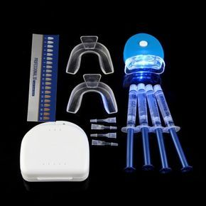 Kit de Blanchiment Blanchisseur Soin Dent Dentaire Avec 3ml Gel Lampe