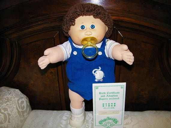 Reserved......Vintage HTF Tsukuda Cabbage Patch Kid Doll 4