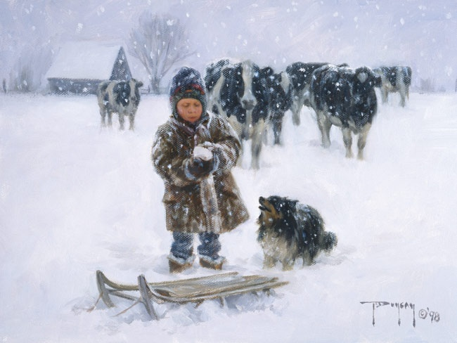 """Good Snow"" by Robert Duncan"