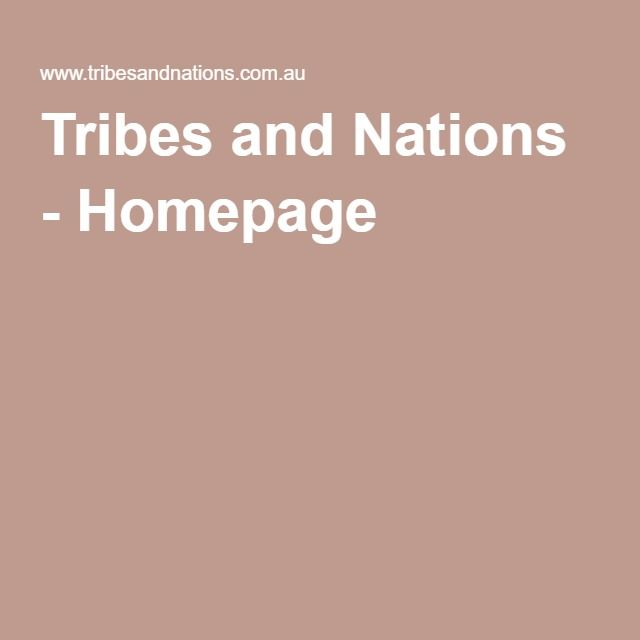Tribes and Nations - Homepage