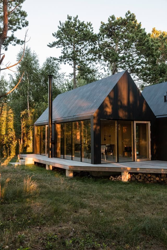 Cottage Designed By Rubow Architects Photos O Architects Cottage Designed Photos Raumteiler Rubow House Exterior Cottage Design Modern Barn House