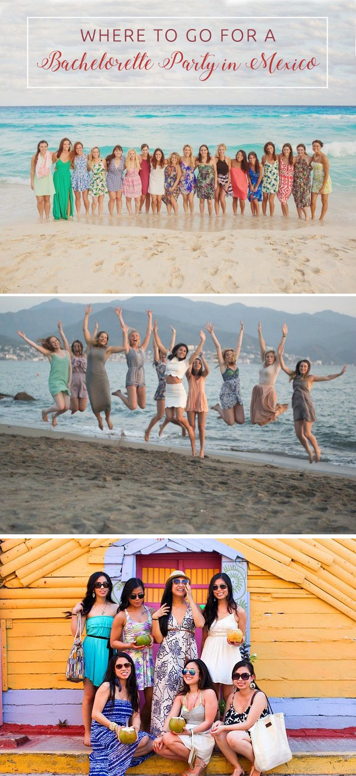 BridalPulse - Where to go for a Bachelorette Party in Mexico By The Bach | Photo by Flytographer | Follow @BridalPulse for more wedding inspiration!