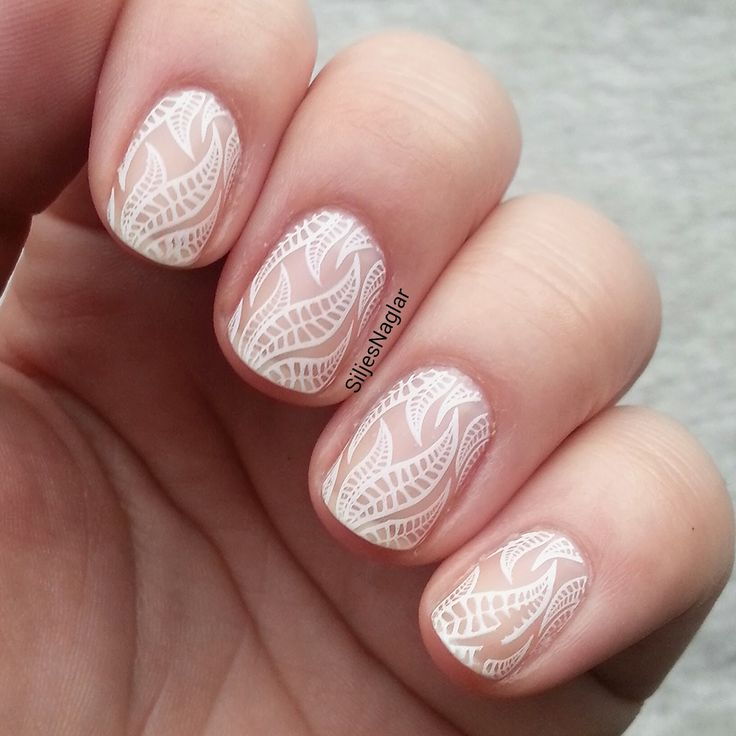 White stamp matt top coat
