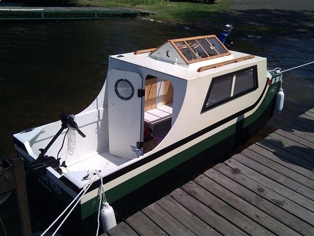 Chugger Boat, like this design ...   BOATS   Pinterest   Boating and Boat plans