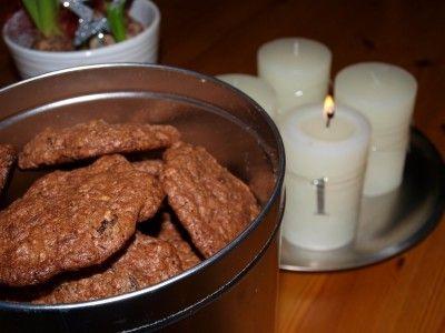 Chocolate cookies | TRINEs MATblogg