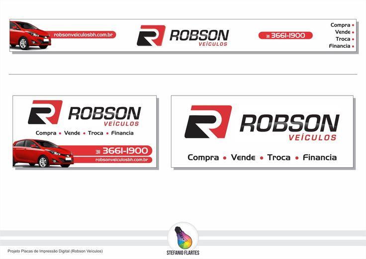 Projeto Placas de Impressão Digital (Robson Veículos)
