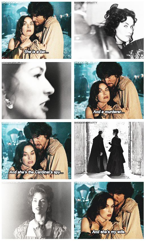The Musketeers - 1x10 - Musketeers Don't Die Easily, Athos/Milady