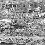 Photos: On this day - August 17, 1969 - the most powerful Atlantic Hurricane in history slams the southern US - Gulfport, Mississippi - Hurricane Camille