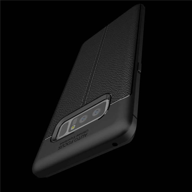 Soft Litchi Silicone Phone Case for Galaxy Note 8