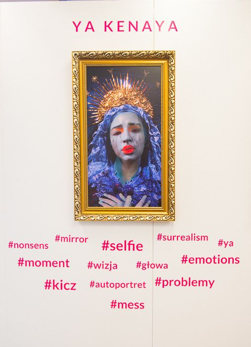 art exhibition, international Art Fair, feminist exhibition, young artist, contemporary art, women artists exhibition, modern exhibition, galerianka, mobile art gallery, hashtags on art exhibition, pink art exhibition, art selfie, ya keneya, francisco zafra virgin of the seven sorrows