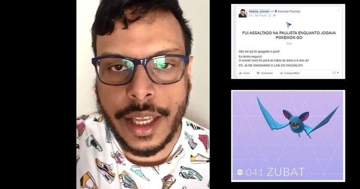 'Pokémon Go' no Brasil: veja casos de jogadores que foram assaltados