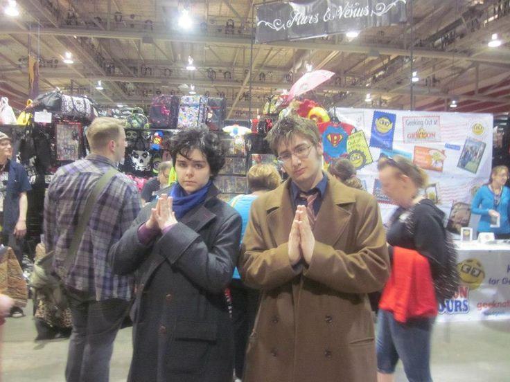 Who meets Sherlock! Calgary Fan Expo 2013.