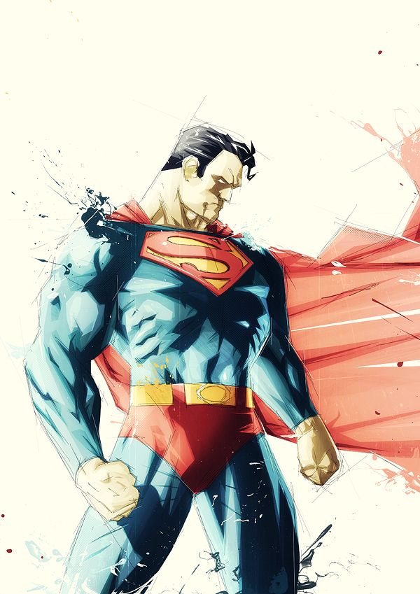 Superman by ~Boingflo on deviantART