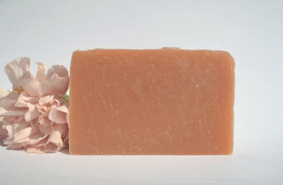 Pink Clay Cleaning Soap by MariPure on Etsy