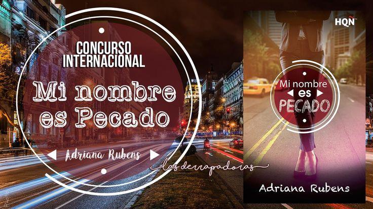 Concurso Internacional: ¡Gana Mi nombre es Pecado, de Adriana Rubens!  #Concurso #Giveaway #Internacional #Libros