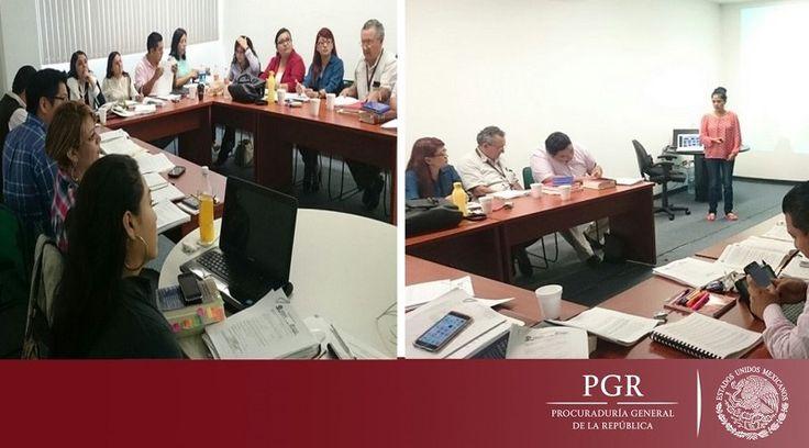 Intensifica PGR capacitación sobre el nuevo sistema de justicia penal acusatorio
