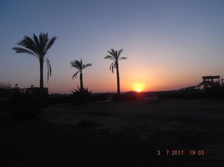 západ slunce v marsa alam