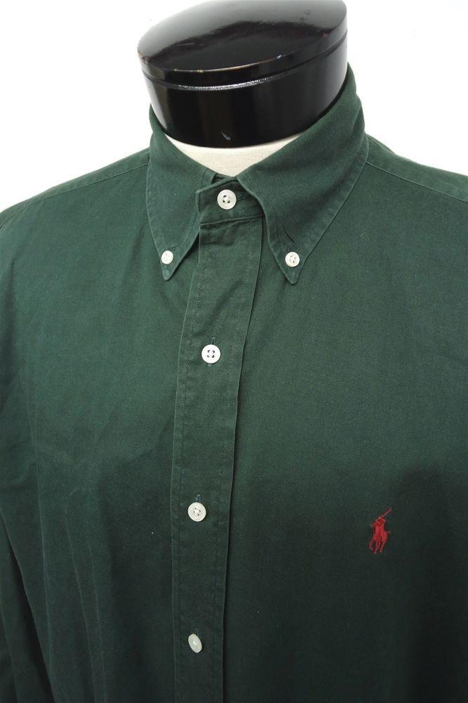 b8b621c53e6 Polo Ralph Lauren Blaire green casual button down dress shirt sz M mens  L S 5378  fashion  clothing  shoes  accessories  mensclothing  shirts (ebay  link)