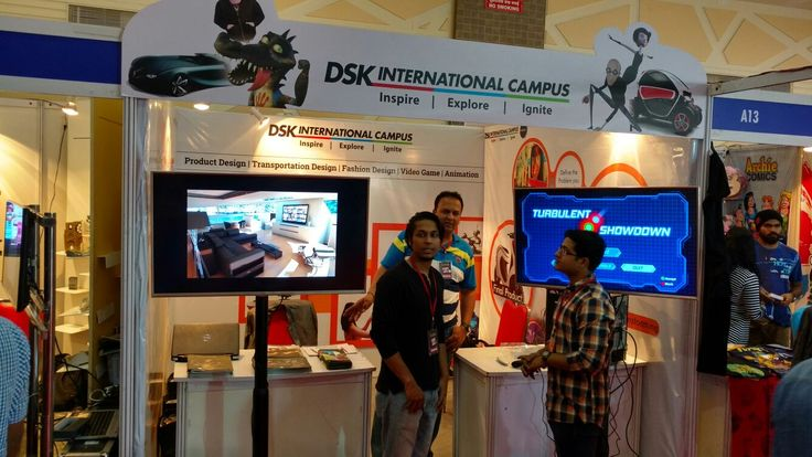 DSK International Campus at Comic Con Express Pune