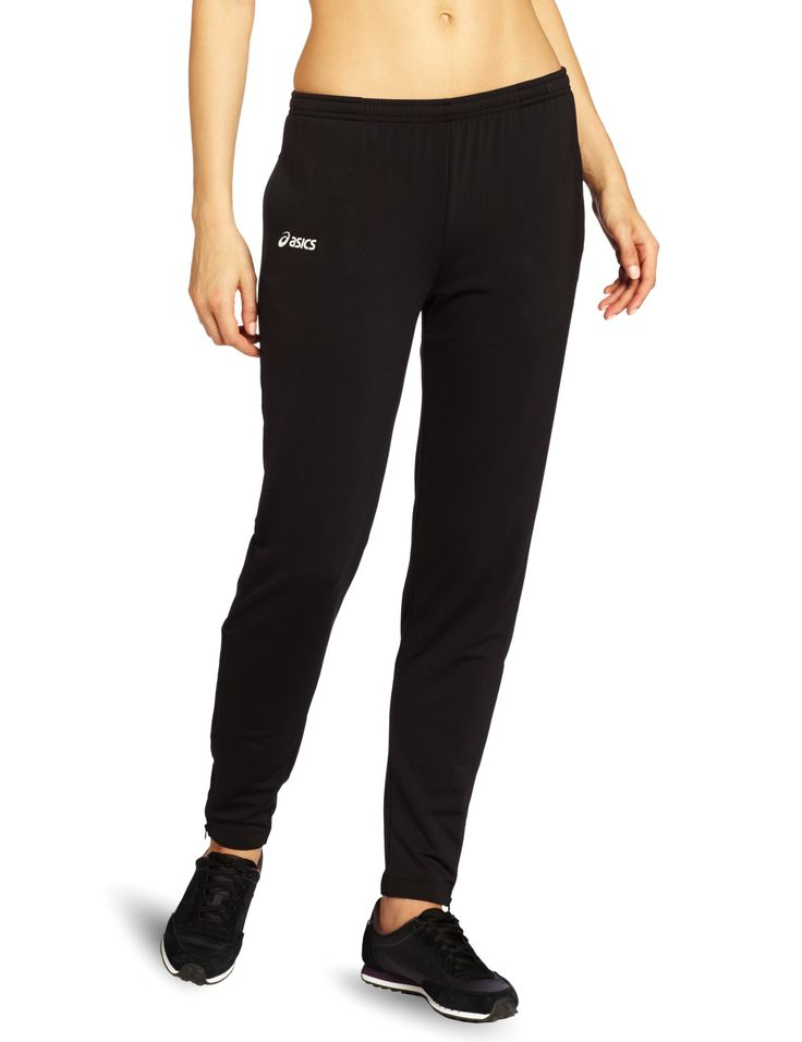 Asics Women's Aptitude 2 Run Pant, Black, X-Small. ASICS Logo on Thigh:.