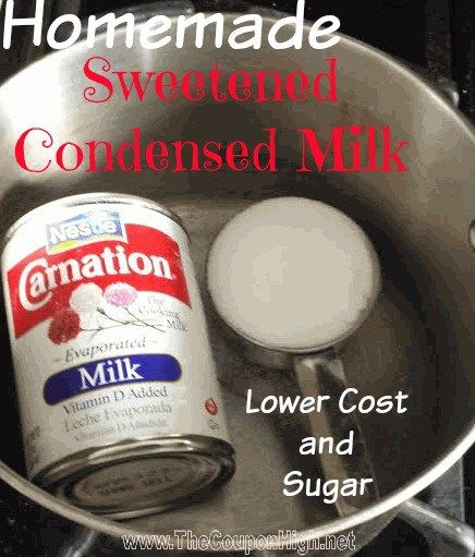 There have been a lot of coupon deals and sales on evaporated milk, but I haven't seen many on Sweetened Condensed Milk.  Not only that, but even the regular price of the Sweetened Milk variety is almost double that of a can of evaporated milk. The problem with this is many of the holiday recipes …