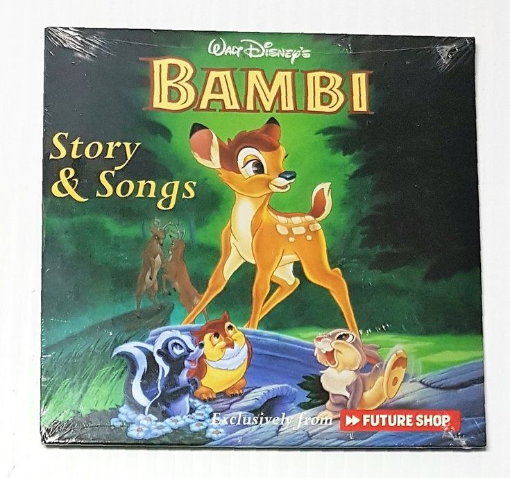 Walt Disney's Bambi Story & Songs Exclusively from Future Shop - 3 Stories  2004 | eBay