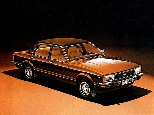 1976 Ford Taunus brochure. My father's first car