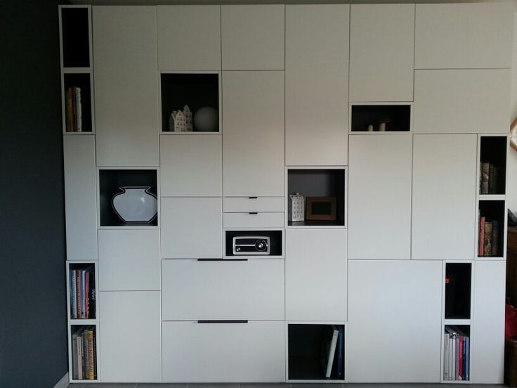 1000 ideas about wall unit decor on pinterest tv wall units painted wood - Customiser commode ikea ...