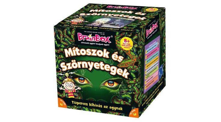 BrainBox Mítoszok és Szörnyetegek - ISKOLAI FEJLESZTÉSHEZ ajánljuk - Fejlesztő játékok az Okosodjvelünk webáruházban