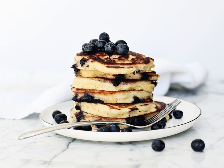 No need for an explanation here. Fluffy buttermilk pancakes infused with lemon, a touch of vanilla, and studded with juicy blueberries. Is there any better way to start a Sunday morning? I think not! You…
