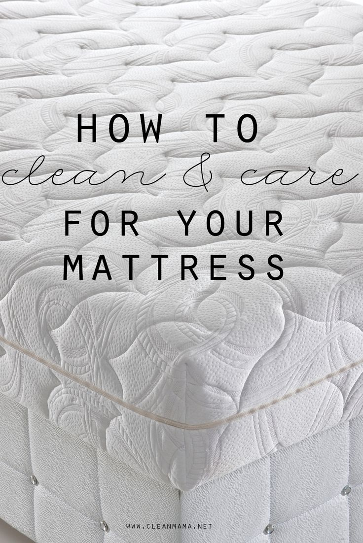 Give your mattress a good (and easy!) spring cleaning.