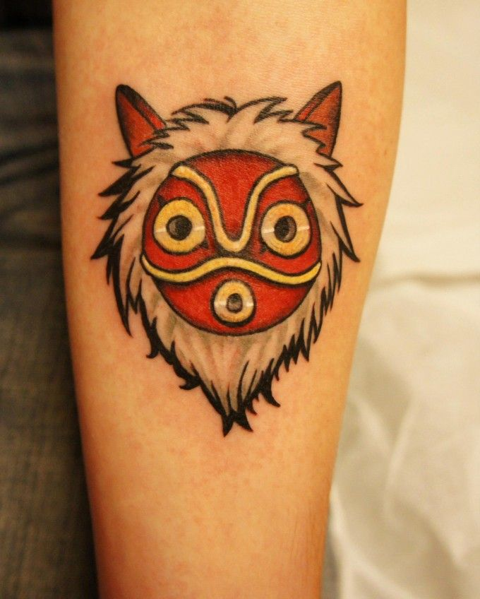 Mononoke Ken Stewart -- Don't think I would do it but this is an awesome tattoo