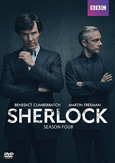 Sherlock: Season 4 (DVD). Click on the cover to see if the movie is available at Freeport Community Library.