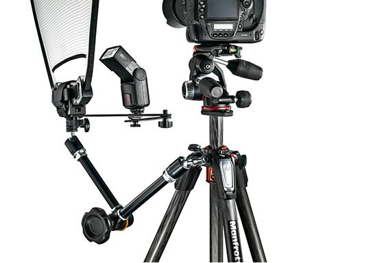 The new #Manfrotto 055 is our best-known and most successful #tripod for professional #photographers; this latest redesign continues to build on the range's heritage, but improves its performance in terms of stiffness and strength and also makes it faster to set-up, easier to use, and more versatile than ever.  Unlimited #Creativity The Easy Link attachment, allows to convert the new 055 in a portable photographic studio. #manfrotto #055 #photography #photo