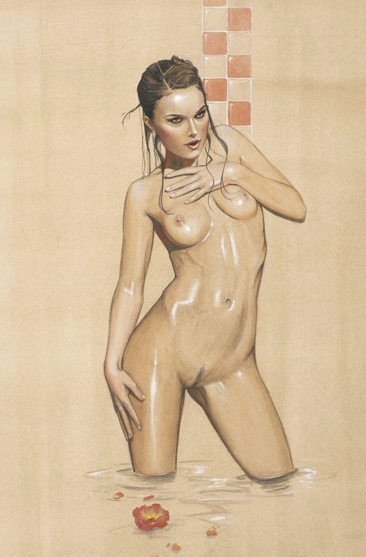 meta art female nudes