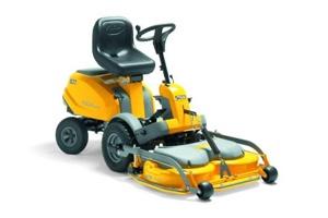 The stiga forward control lawnmover is so flexible and easy to use villa-sq16-hst-sm #portreathgardenmachinery