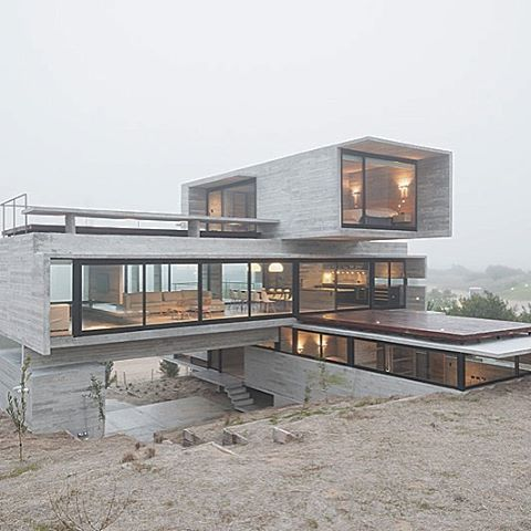 find this pin and more on concrete homes - Concrete Home Designs