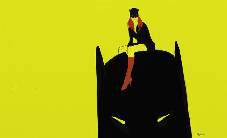 Scarlet batgirl