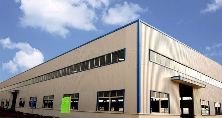 industrial steel building plans used factory for sale