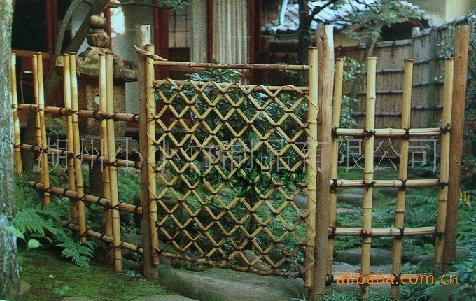 japanese bamboo fences | Bamboo Garden Fence