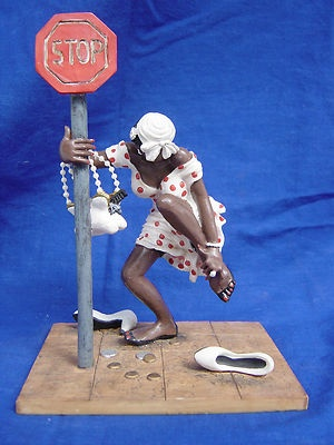 Sass N Class 8 1 2 Narrow African American Figure by Annie Lee 1998 Retired RARE | eBay