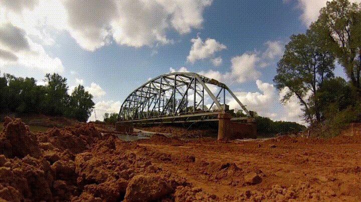 GoPro captures 600-pounds of explosives destroy Oklahoma bridge
