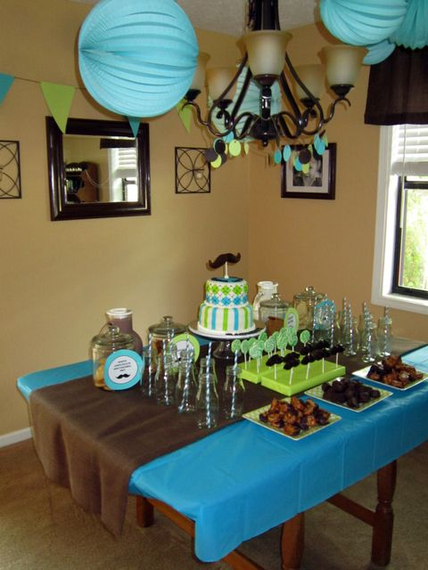 Little man baby shower little man baby shower for Dekoration fur babyparty
