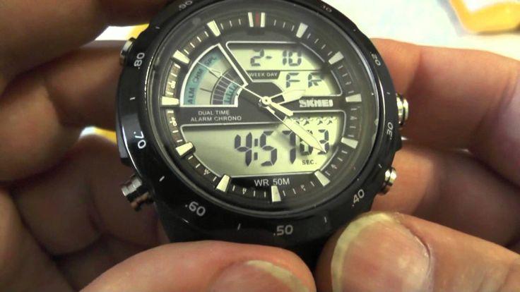 Из Китая посылка №49, №50. Мужские спортивные часы SKMEI. Солнечная батарея WN-801 Рекомендую, партнёрка: http://www.air.io/?page_id=1432&aff=350 1) Повседне...
