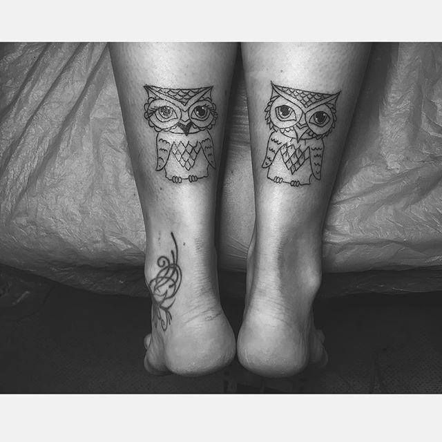 #owl#tattoo#ink#inked#tatts#linework#blacktattoo