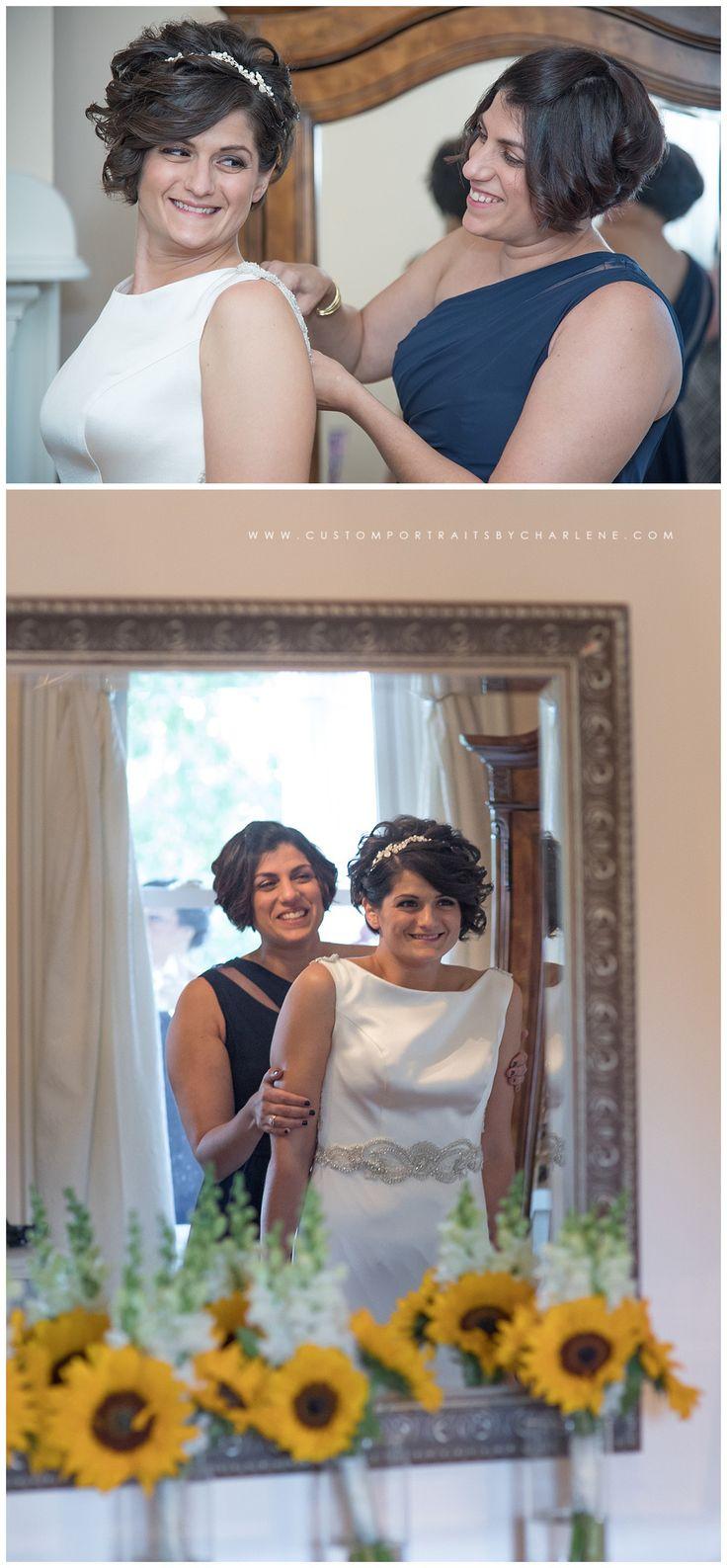 samantha & lucas   bramblewood at simmons hickory farm ceremony & reception   pittsburgh wedding photographer » custom portraits by charlene