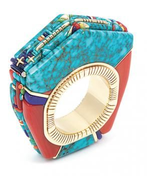 Fit for the Glitterati: 13 Masterpieces by the Yazzie Family of Navajo Jewelers - ICTMN.com