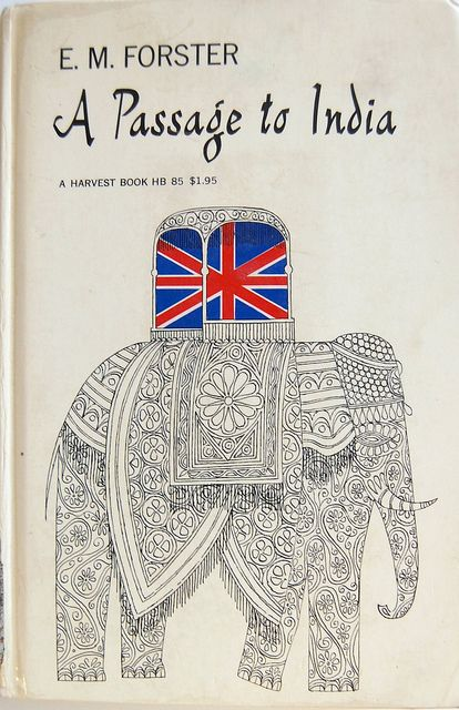 E.M. Forster's A Passage to India, cover design by Ellen Raskin, 1952.