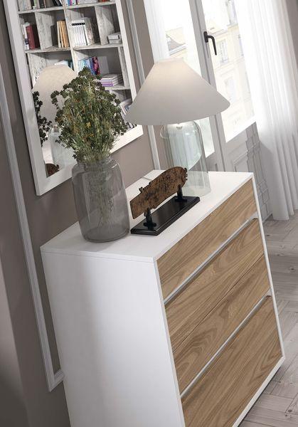 Detalle ambiente 01 - mueble chapa natural dormitorio matrimonio Mesegue
