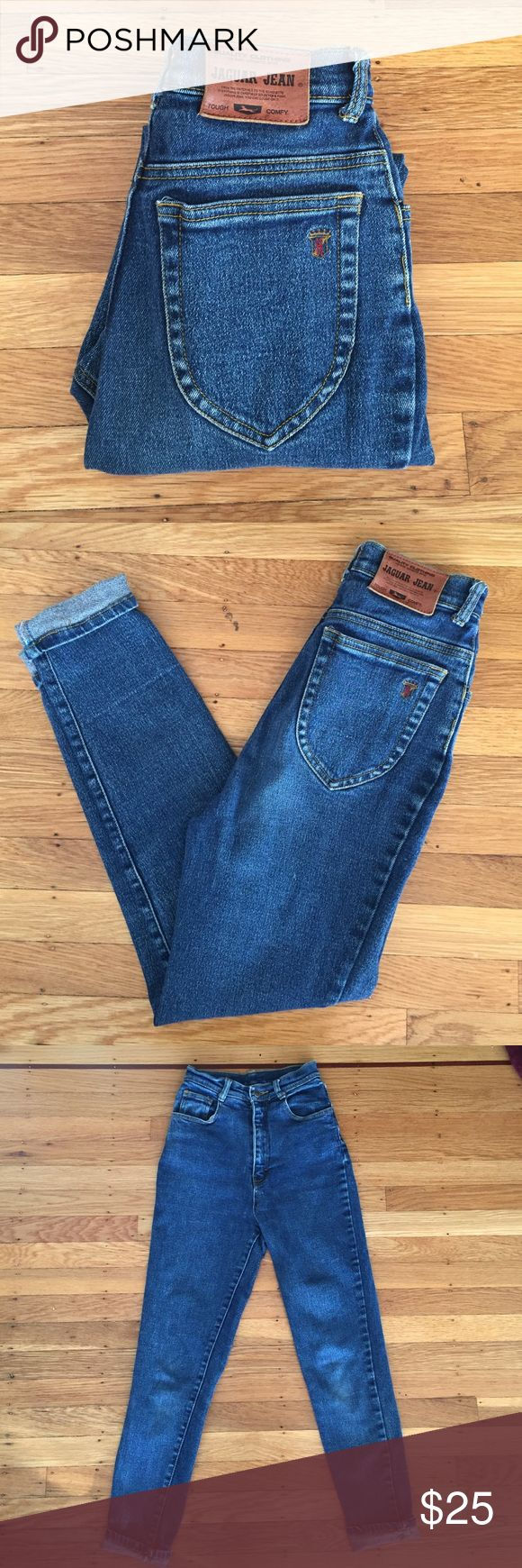 Vintage high waisted jeans High waisted mom jeans. In great condition! Tag says 27 but best fits a size 24/25 vintage  Jeans